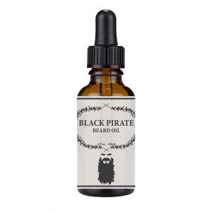 Black Pirate Beard Oil